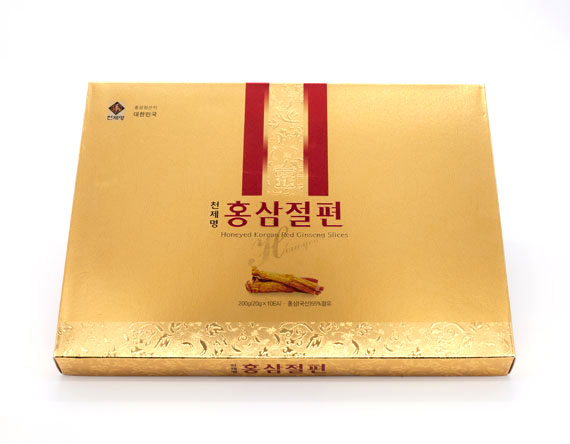 CHUN JEA MYUNG – Honeyed Korean Red Ginseng Slices