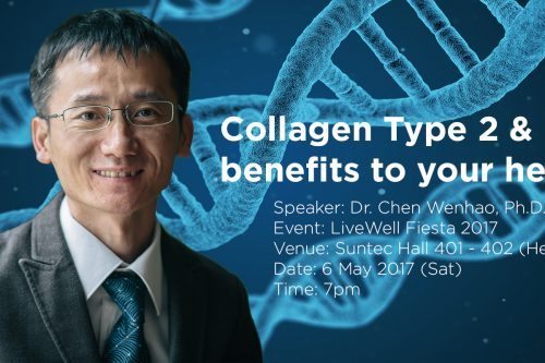 Talk on Collagen Type 2 and its benefits to your health